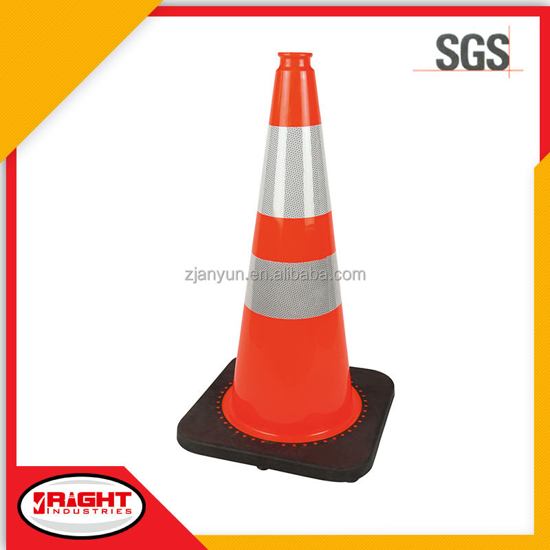 7100 75cm Economical Flexible PVC Safety Cone