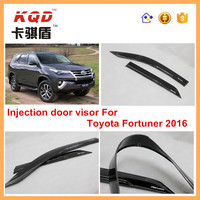 New Kits For Toyota Fortuner 2016 Auto Exterior Accessories Black Window Door Visor