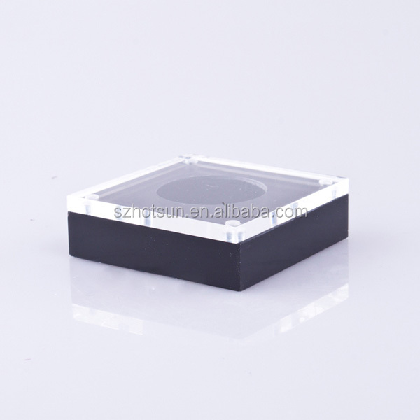 high grade jewelry store acrylic display box for diamond