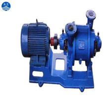 High capacity horzontal water ring vacuum pump