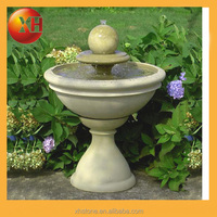 Italian mini musical rotating ball fountain