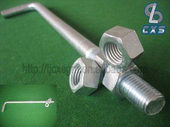 E.G. L Type Anchor Bolt - M64