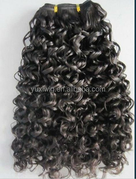 curly human hair jerry curl unprocessed human hair extension