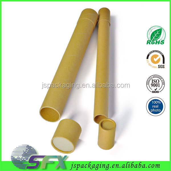 Wholesale OEM/ODM China supplier recycling customized paper tube container kraft paper tube