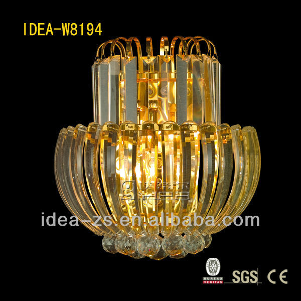 Indoor unique/modern crystal wall lamp sconce lighting, Laidi factory W8194