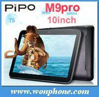 "Newest Pipo M9 Pro 3G RK3188 Quad Core 10"" Tablet PC IPS Screen 2G RAM 1.8GHZ Android 4.2 two Camera 32GB Bluetooth"