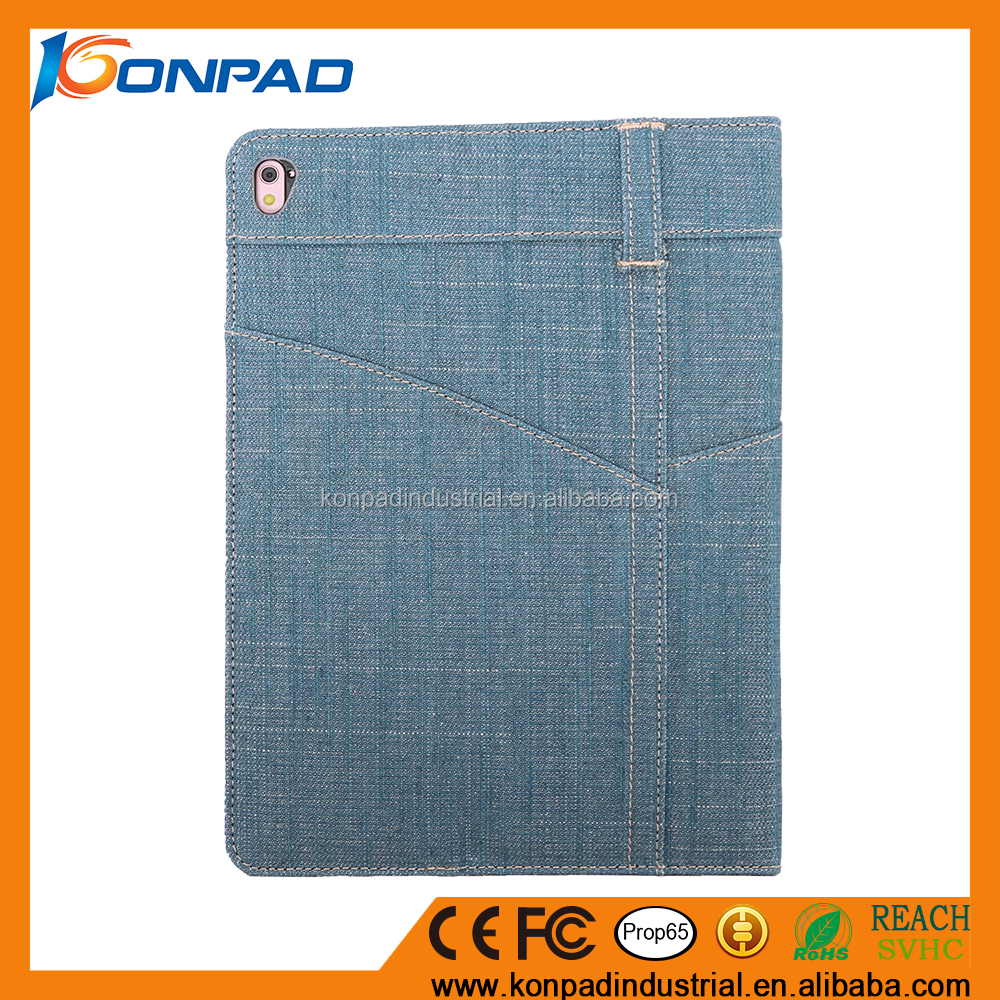 High quality phone and tablet accessories custom flip leather case for ipad smart cover , case for ipad