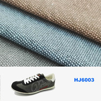 hot sale 12 oz pu coated 100% cotton canvas fabric for casual shoes