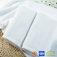 High-Grade Cotton Pure White Towel For Hotel