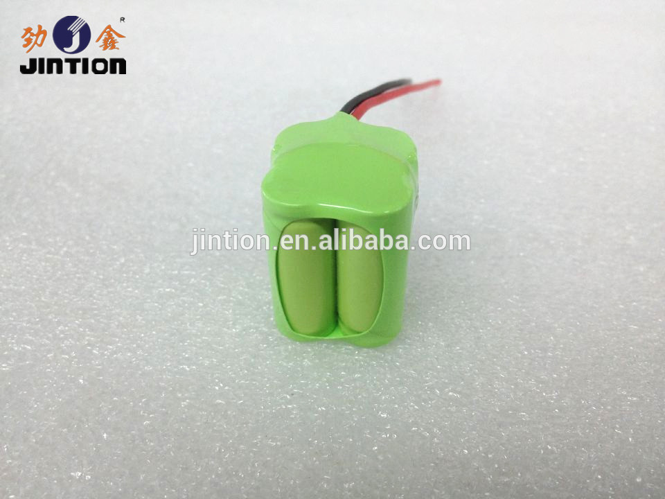 NIMH 2/3AAA 4.8v 500mah rechargeable battery pack