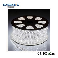 Factory direct sale 5050 SMD led strip lightings 220-240v 100m/roll with CE FCC RoHS IP68