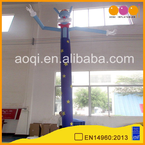 China inflatables durable material cat inflatable advertising sky air dancer for sale