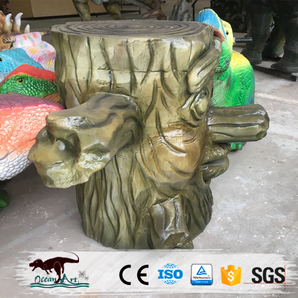 OA300041 Special Talking Tree Face for Dinosaur Theme Park