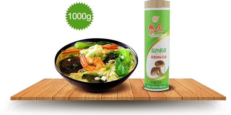 Xiang Nian Brand Wholesale Instant Dried Noodles 1000g Mushroom Noodle