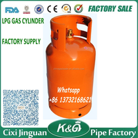 Hot Sale Cheap Low Pressure Butane Stainless 12.5KG LPG Gas Cylinder, LPG Gas Cylinder 12.5KG, Cooking Gas Cylinders Tank Bottle