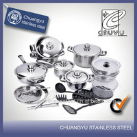 stainless steel capsule bottom castiron cookware