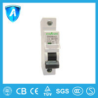 TUV certified 25 Amp mini circuit breaker