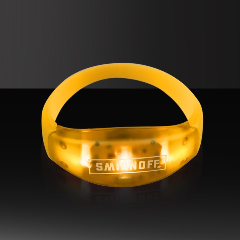 Hot sale Led flashing wristbands watch,RFID Led flashing wristband watch/