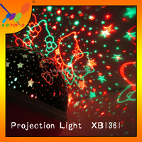Popular Beautiful Energy Saving colorful projection light LED changing Color Light