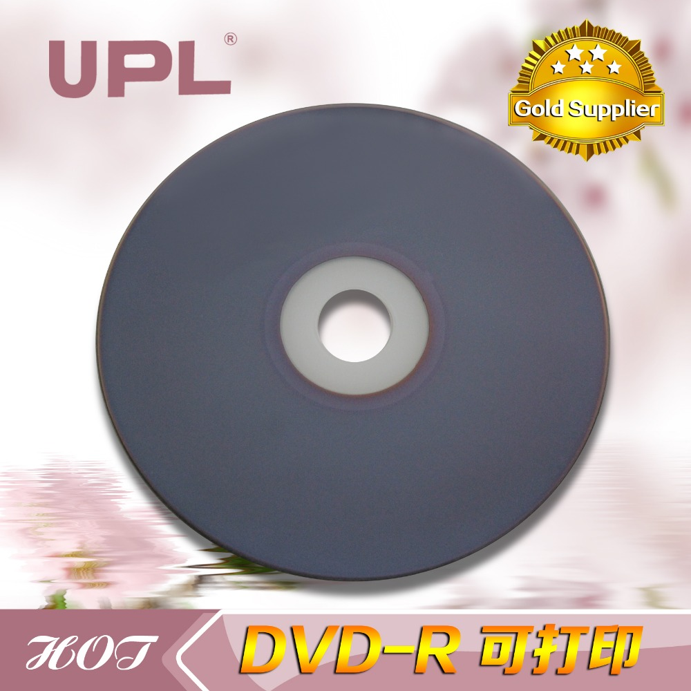 UPL printable dvd+r hot dvd+r manufacturer