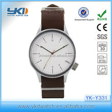 Trend fashion watch for leather watch with young men fashion trends
