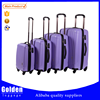 Alibaba China manufacturer trolley suitcase set 2015 new products cheap abs travel luggage set