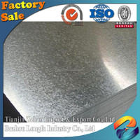 High quality cold rolled Galvanized sheet metal prices/Galvanized iron sheet