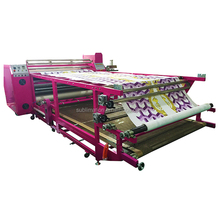 Fabric textile calender oil roll heat press roller sublimation heat transfer machine DBX-1800