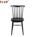Commercial solid wood restaurant dining windsor chair