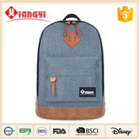 2015 High quality China manufacturer strong casual laptop backpack for teens