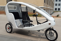 Electric 3 Passenger Bike Taxi Tricycle