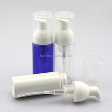 50ml PET cosmetic airless lotion plastic pump bottle
