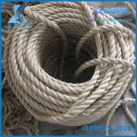 12mm twisted natural hemp sisal rope for sale