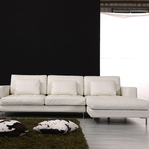 Good Quality Modern l shaped italian leather sofa manufacturers