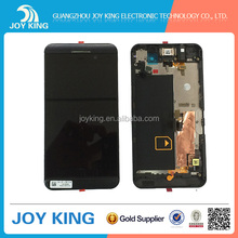 Factory direct touch screen digitizer glass for blackberry z10 ,repair parts for blackberry z10 china wholesale