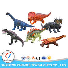 Trending hot selling giant dinosaur soft vinyl toys wholesale