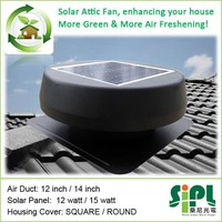 factory direct sale solar roof fan at cheaper price