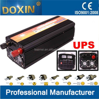 12v 3000W off grid Modified sine wave solar power inverter with UPS