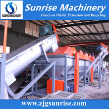 Sunrise Machinery Plastic Recycling Machine PE Film Bag Washing Line Factory
