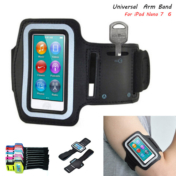 Get Quotations Universal Outdoor Sport Gym Running Armband Strap Holder Case Cover For Apple Ipod Nano 7 Workout