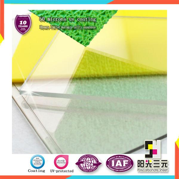 Anti condensaci n revestimiento de cubierta de pl stico - Laminas de plastico transparente ...