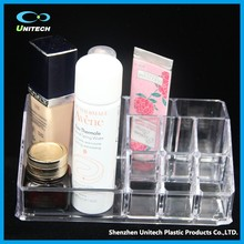 Creative Design clear OEM cake pops acrylic display stand makeup brush organizer