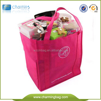 non moven bag supermarket used recycable eco friedly high quality non woven shopping bag