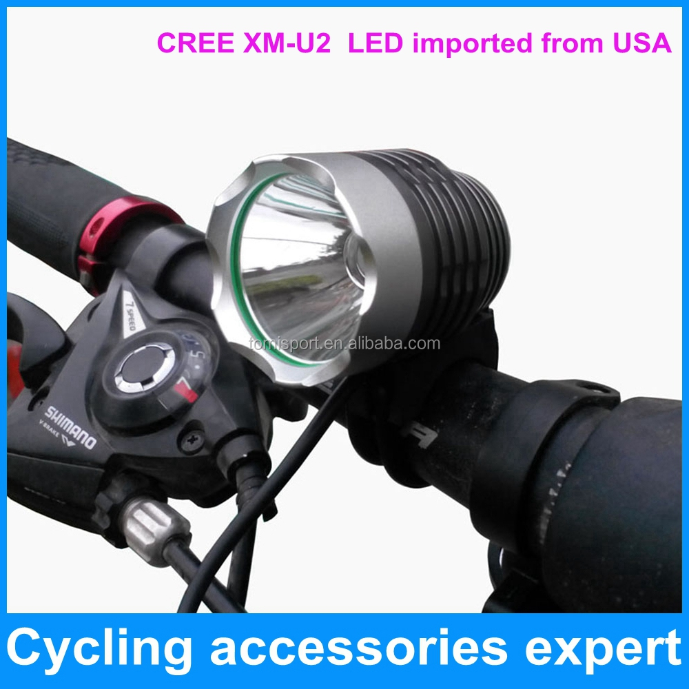 high quality 1000 lumen T6 XM-<strong>U2</strong> led mountain bike bicycle front light
