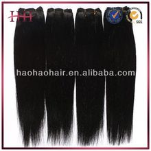 Fast Shipping 5a Grade 100% Human Bundles straight virgin remy peruvian hair weave
