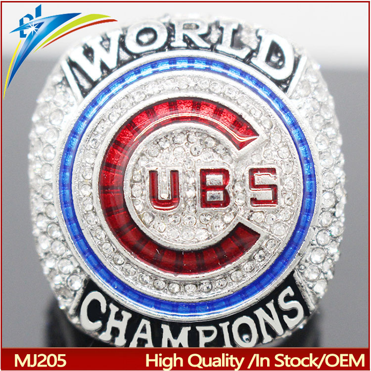MLB Chicago Cubs Championship Ring World Series Sport Ring