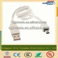 mini usb cable for mobile phone,mini usb speaker cable,custom usb charger cable
