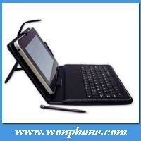 7inch Leather Case with USB Keyboard for Tablet PC