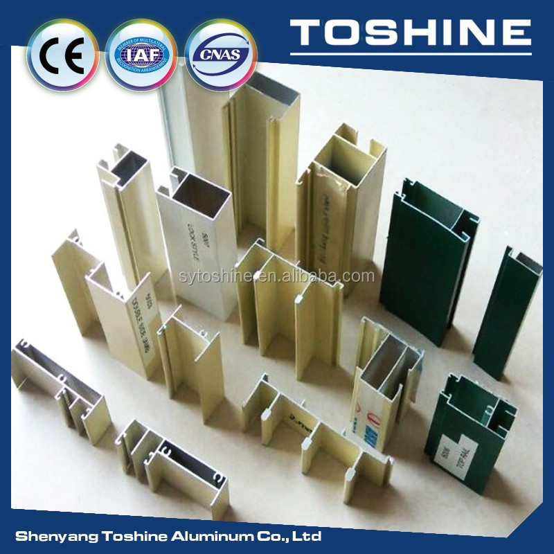 Hot! OEM aluminum extrusion profiles section producting line, snad blasting aluminum profile for kitchen cabinet