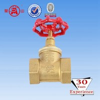 rising stem brass gate valve pn16
